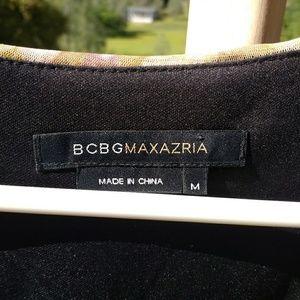BCBGMaxAzria Dresses - One sleeve asymmetrical hem top or mini dress